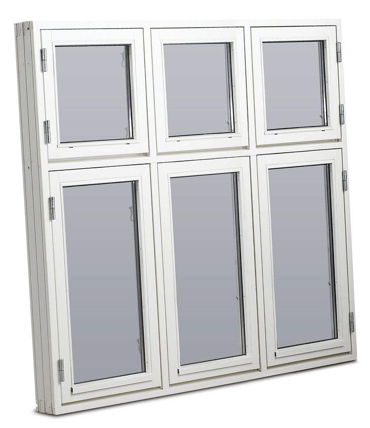 Dänische Fenster 3 Flügel 6 Scheiben