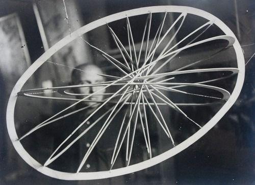 "Alexander Rodchenko. ""Suspended Spacial Construction No. 12"". 1920. Moscow, Russia. (Alexander Rodchenko)."