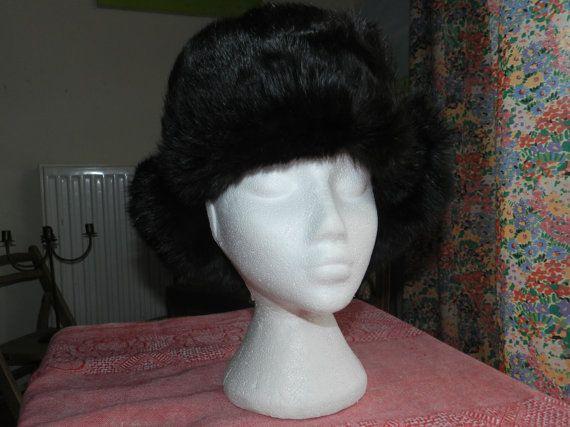 Vintage Hat  Original Russian Winter Hat  by LaVieEnNoirGallery, £120.00