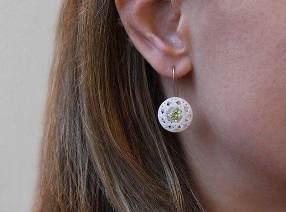 Red Diamond Orecchini con pietre blu gioielli di XbyAB su Etsy