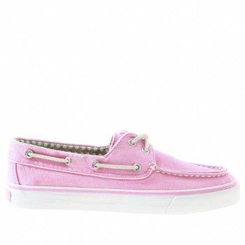 Sperry 9266313 roze canvas