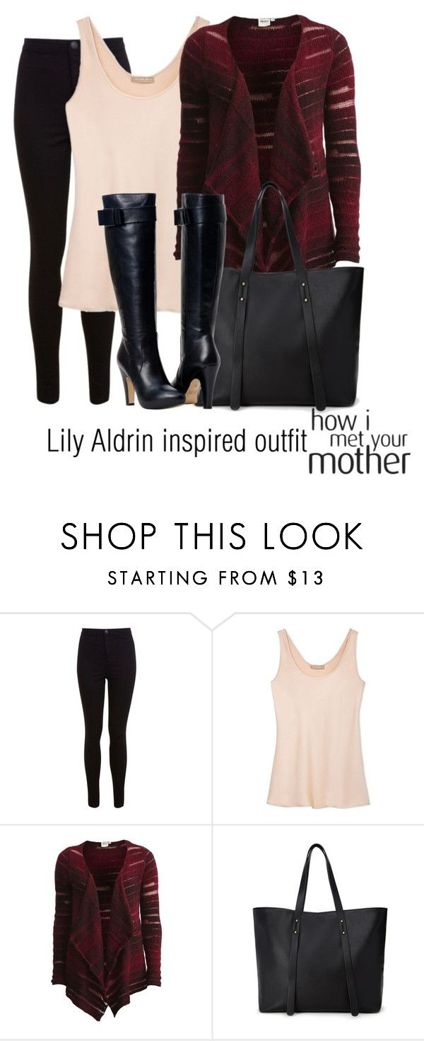 """""""Lily Aldrin inspired outfit/HIMYM"""" by tvdsarahmichele ❤ liked on Polyvore featuring Miss Selfridge, Michael Kors, Object Collectors Item and Forever 21"""