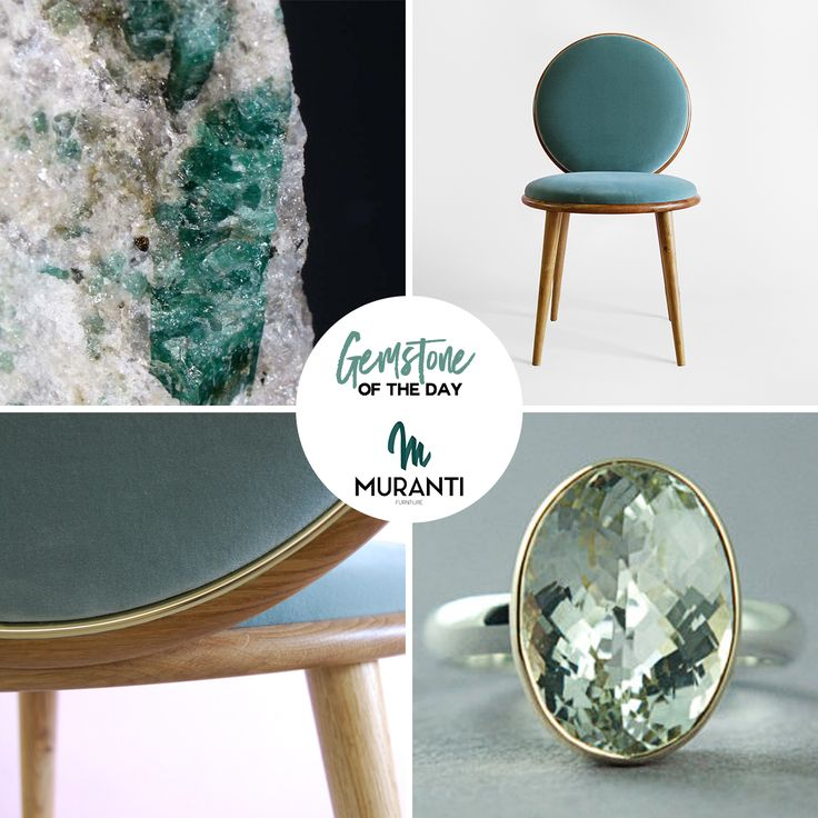 The Gemstone of the day is GREEN BERYL 💎a stone with rich energy, the perfect talisman for all kinds of protection! Choose your favorite piece from our collection and customize with this peacefull color (www.muranti.com) #gemstoneoftheday #muranti #luxury #furniture #uphostery #gemstone #color #greenberyl #beryl #green #coloroftheday #diningchair #chair #inspiration #interiordesign #homedecor #design #interiorismo #interieur #интерьер #colortrends #trends #panton