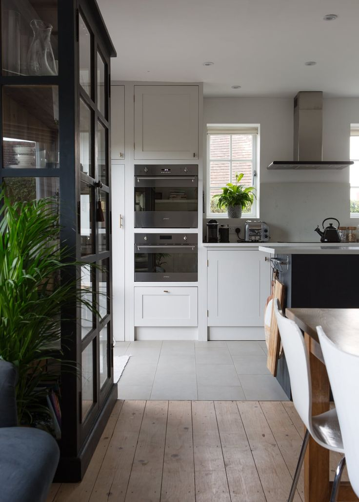 Vicky and her husband sanded the floors, whitewashed them with a thin layer of emulsion and sealed them with an ultra-matt varnish.
