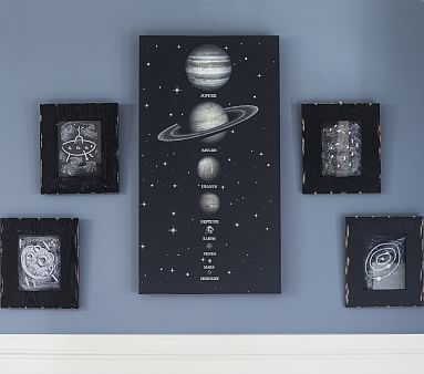 Solar System Led Art Pbkids Diy Solar System And Ufo Art For New Bedroom Decor