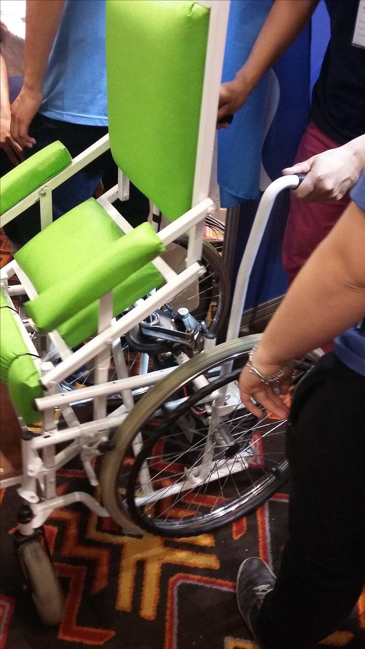 Silla de ruedas adaptada