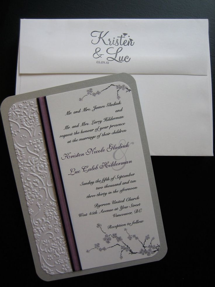 84 Best Hand Stamped Wedding Images On Pinterest Invitation