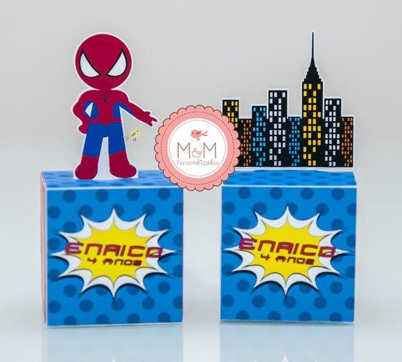 Caixa Totem - Homem Aranha