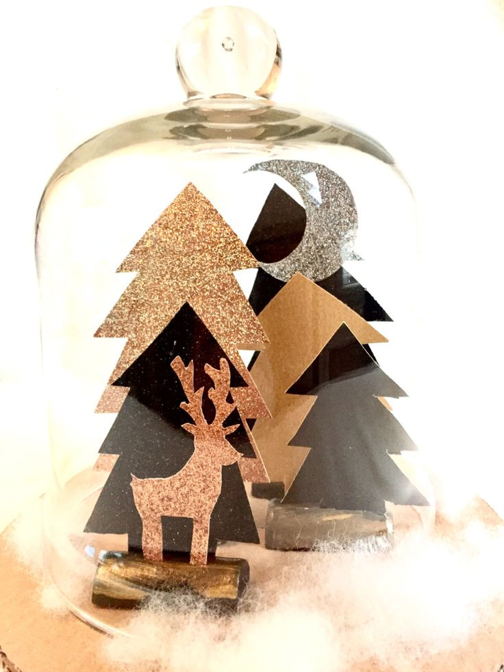 291 best images about diy for christmas on pinterest for Decoration foret enchantee