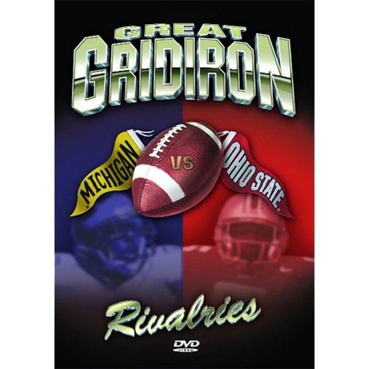 Great Gridiron Rivalries: Ohio State vs. Michigan DVD, Blue