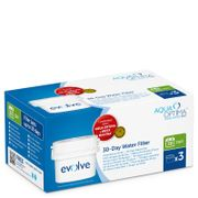 #Aqua Optima Evolve 30 Day Water Filter 3 Pack (3 #The Aqua Optima Evolve 30 Day water filter uses a unique 5 step filtration system to reduce impurities from tap water, effectively removing limescale, herbicides, pesticides, lead and other heavy metals. Each Evolve filter lasts for 100 litres, approximately 30 days of average use and can be used in the Aqua Optima and BRITA MAXTRA filter jugs and leading water chillers. The bundle contains 3 Aqua Optima Evolve 30 day filters providing 3…