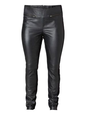 Plus Size Leather pants from Junarose. Super classy, a must have #ItsRedsStyling
