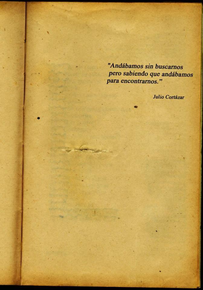 Julio Cortazar, I just read La Noche Boca Arriba from the Collection Al Final Del Juego. Cortazar es de Argentina, parte del Boom...