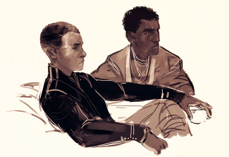 Breq and Seivarden. Just finished reading Ancillary Justice, and it blew my mind to pieces.