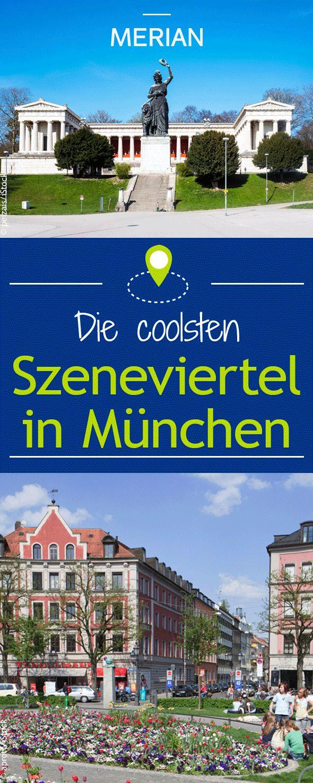 Auch in München gibt es die verschiedensten bunten Szeneviertel für bestimmten Musik-, Mode- oder Gastro-Vorlieben. Welche ihr kennen solltet, verraten wir euch hier.