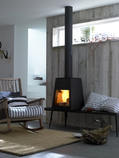 fireplace | Styling/Production: Peter Fehrentz; Photo: Olaf Szczepaniak