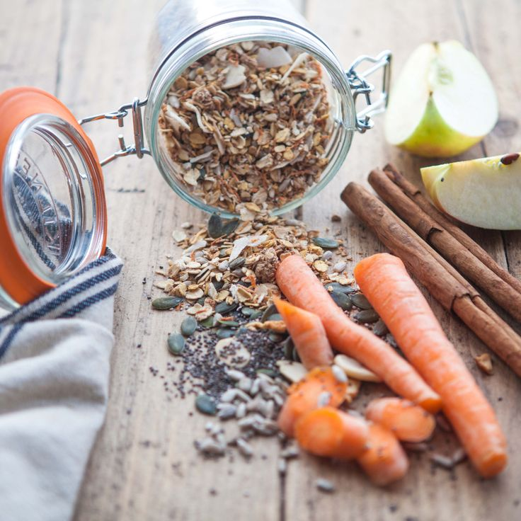 Primrose's Kitchen Raw Carrot, Apple & Cinnamon Muesli – OOSTOR.com