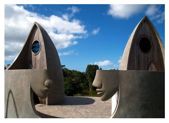Public Toilets, Matakana Island.