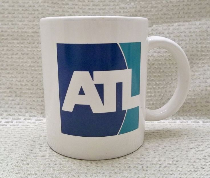 ATL Hartsfield-Jackson Atlanta International Airport Mug Coffee Cup Atlanta GA