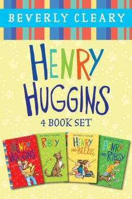 Henry Huggins, by Beverly Cleary. 4-Book Set.