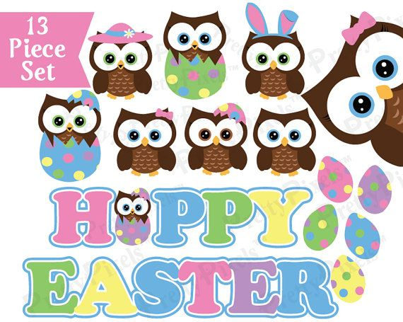 free easter owl clip art - photo #10