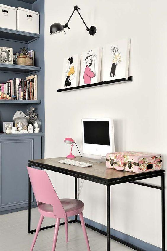 10 Mini home offices que vão deixar seu 2017 mais produtivo! - Fashionismo