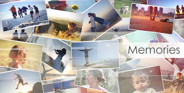 Memories — AE Template #photo #slideshow • See it in action → https://videohive.net/item/memories/129889?ref=pxcr
