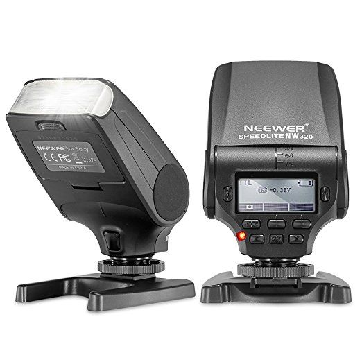 Neewer® NW320 TTL LCD Display Flash Speedlite for Sony: Amazon.co.uk: Camera & Photo