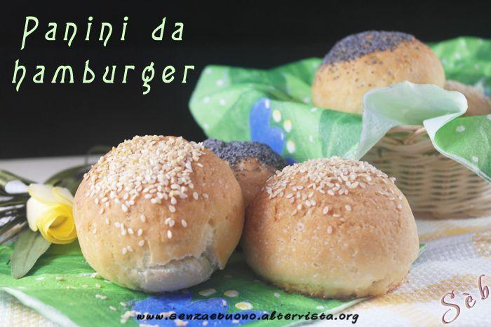 Panini da hamburger (burger buns) #homemade #senzaglutine #vegan senza burro e senza latte vaccino http://senzaebuono.altervista.org/panini-da-hamburger-vegan-senza-glutine/