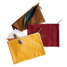 Everyday Leather Collection | Totes + Clutches | Mark and Graham