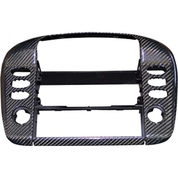 Porsche® 996 Carbon Fiber Middle Vent Cover, W/O Navigation, 1998-2004 - Porsche Parts and Accessories