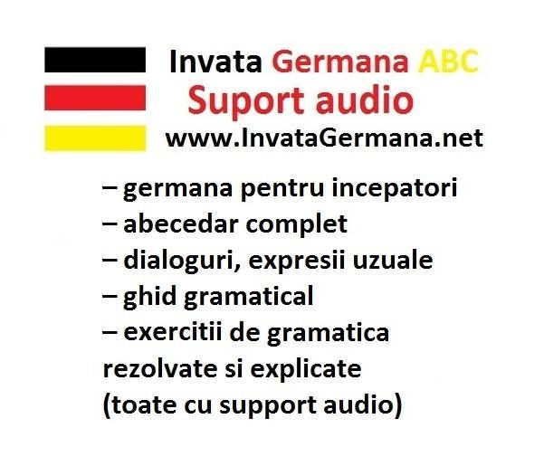 Invata limba germana online cu suport audio.