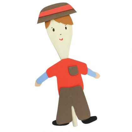 Hansel Wooden Spoon Puppet - CleverPatch