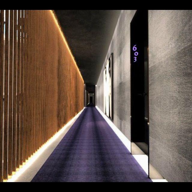 46 best corridor images on pinterest corridor corridor for Design hotel 69