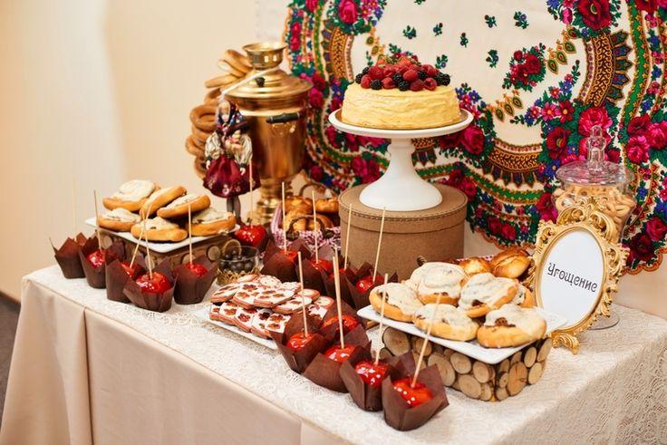 Сладкий стол в Русском стиле