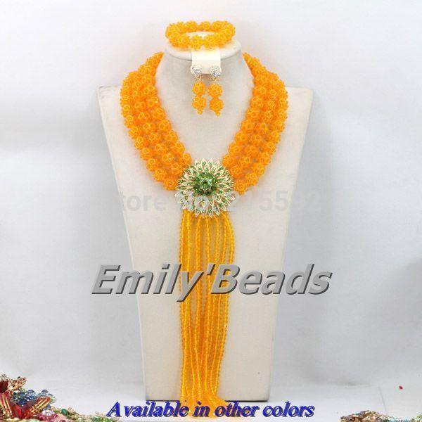 82 best Nigerian African Wedding Crystal Balls Jewelry Set images