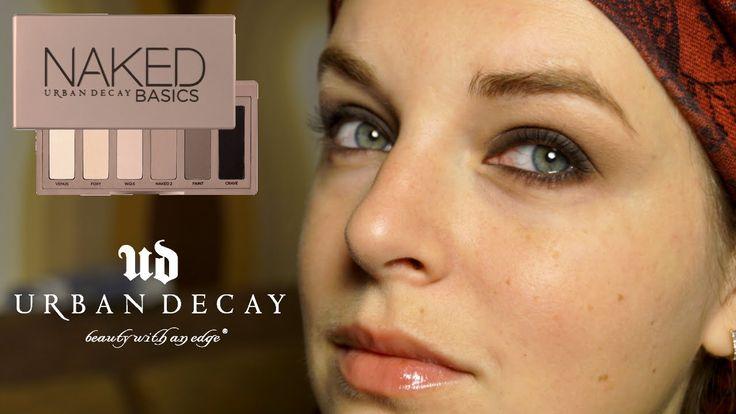 4 макияжа с палеткой NAKED basics | Обзор палетки NAKED basics Urban Dec...