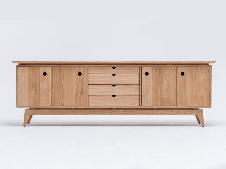 Acheter en ligne St sideboard By st furniture, buffet en chêne pédonculé