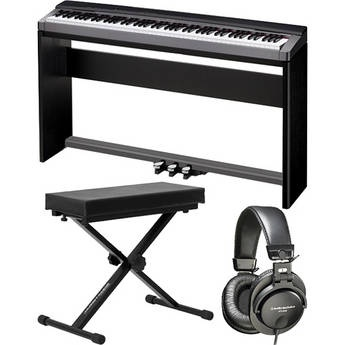 Casio   PX-150 88-Key Piano Home Studio Bundle (Black)
