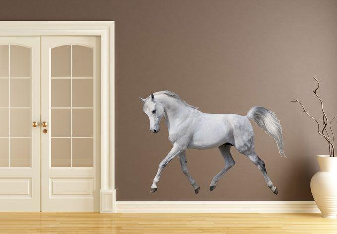 Muursticker Levensecht Paard -