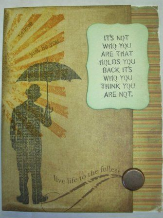 live life to the fullest by pyrogirl - Cards and Paper Crafts at Splitcoaststampers