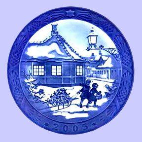 Royal Copenhagen Blue