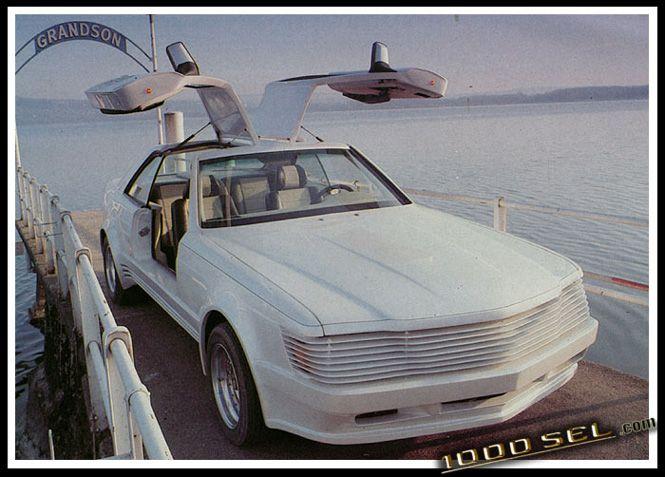 """Sbarro - Mercedes W126 SEC Gullwing """"Shahin"""""""