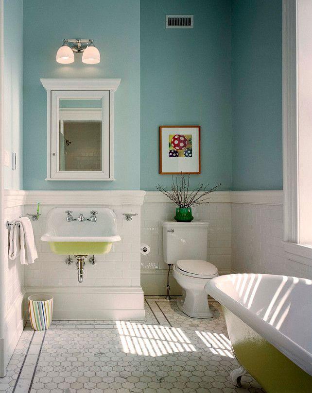Bathroom Paint Stripe Ideas
