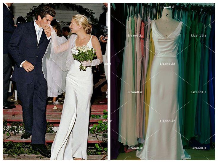 Best 25+ Carolyn Bessette Wedding Dress Ideas Only On