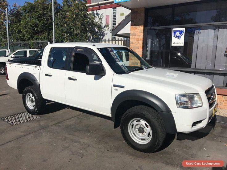 2008 Ford Ranger PJ 07 Upgrade XL (4x2) White Manual 5sp M Dual Cab Pick-up #ford #ranger #forsale #australia