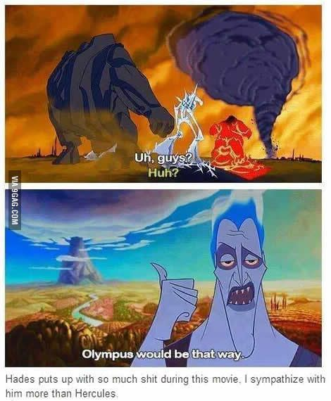Poor Hades << I sympathize with Hades no matter what fandom he's in. He got stuck with the short stick with no choice otherwise.