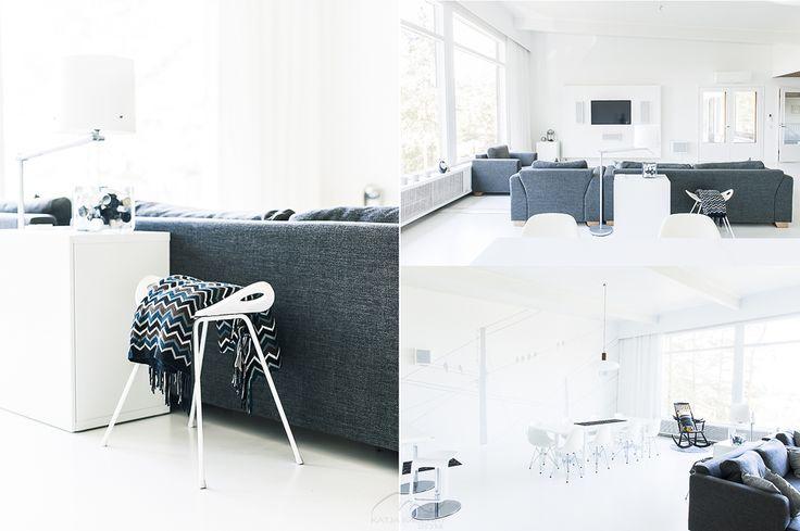 White Interior. Scandinavian Style. Katin Kokeelliset Remontit: kesäkuu 2014