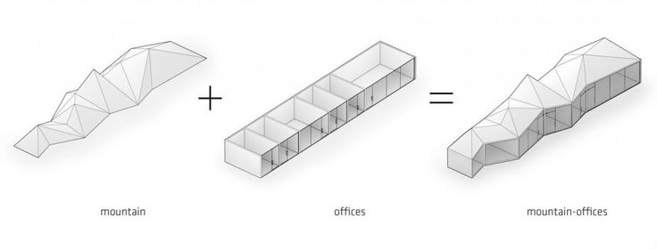 concept diagram | Hybrid Office | Los Angeles, California | Edward Ogosta Architecture | 2012