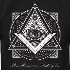 Men's Black Illuminati Logo